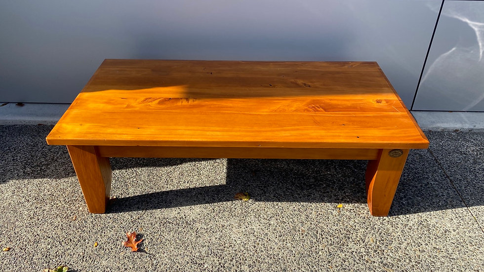 Woodpeckers solid recycled rimu coffee table!