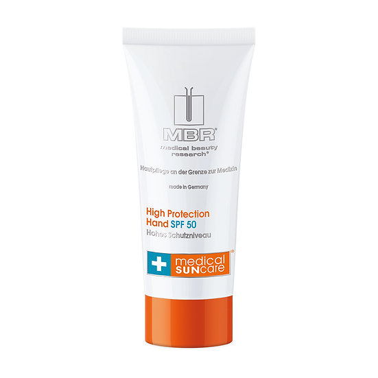 MBR - medical SUN care® High Protection Hand SPF 50