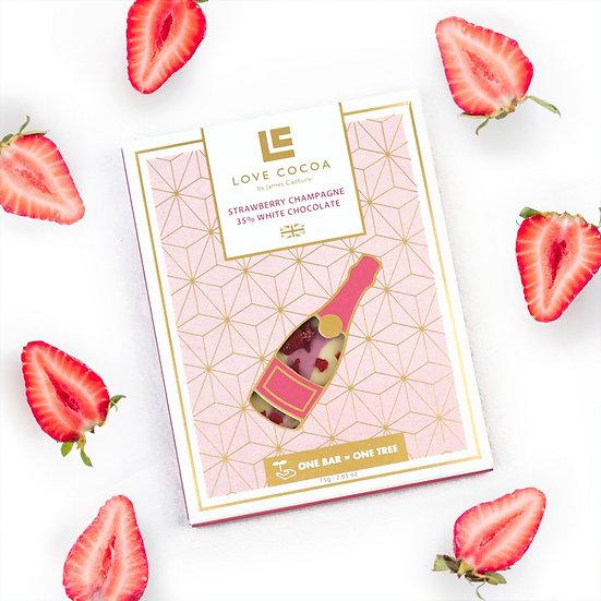 Love Cocoa - Strawberry Champagner