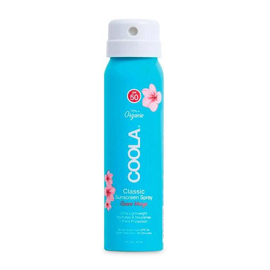 Coola - Classic SPF 50 Body Spray Guava Mango