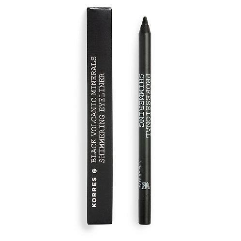 KORRES - Black Volcanic Minerals  Shimmering Eyeliner black