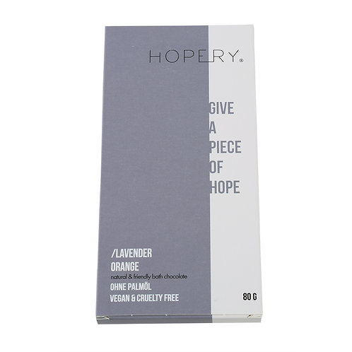 Hopery - Badeschokolade Lavender Orange