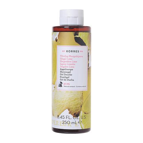 KORRES - Ginger Lime Duschgel