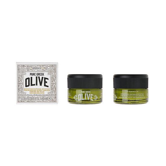 KORRES - Olive Feuchtigkeitsspendende Nachtcreme