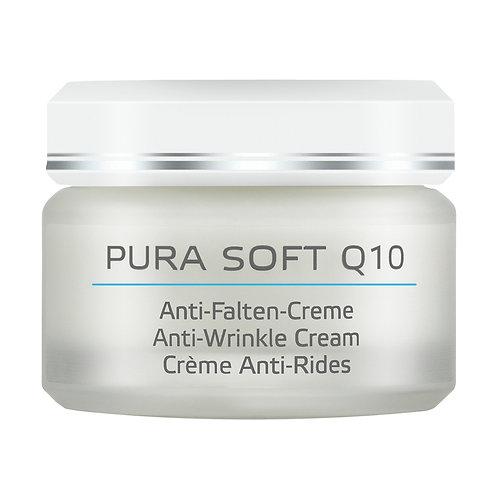 ANNEMARIE BÖRLIND - PURA SOFT Q10 Anti-Falten-Creme