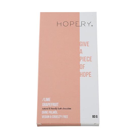 Hopery - Badeschokolade Lime Grapefruit