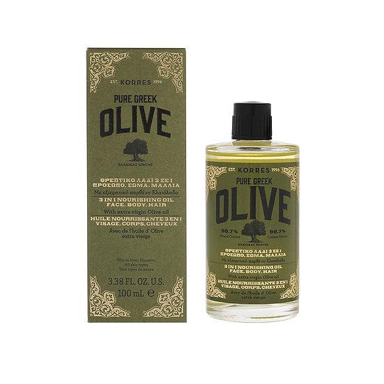 KORRES - Olive Nährendes 3In1 Öl