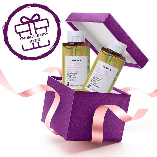 Geschenkset - KORRES Cucumber Bamboo Duschgel