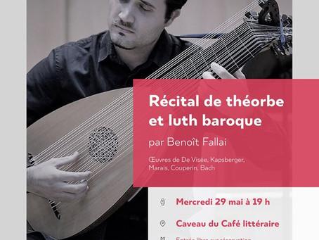 Récital Benoît Fallai
