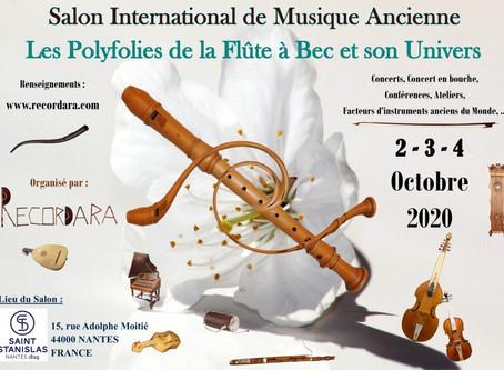 Venez découvrir mes luths & guitares à Nantes!