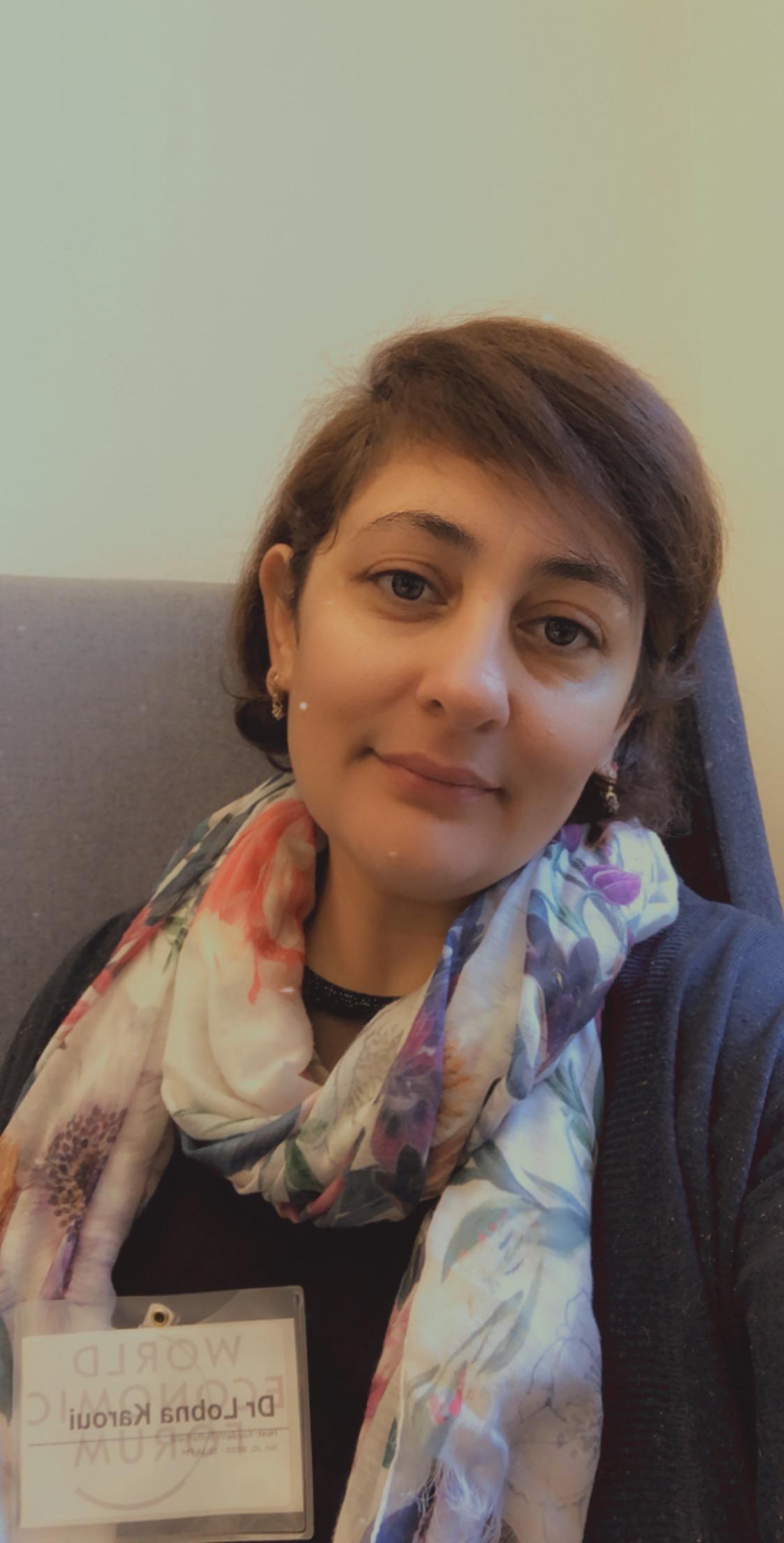 Dr. Lobna Karoui in WEF