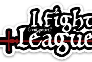 """I Fight League"" Cutout Sticker"