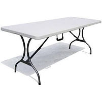 Table hire rectangle 1.8m