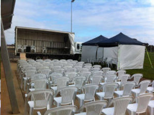 Outdoor chair hire melbourne