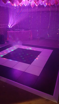 dancefloor hire