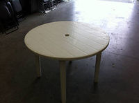 Garden table hire 1m