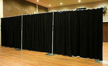 barrier drapes for hire melbourne