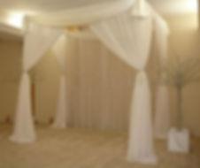 Wedding drape hire melbourne
