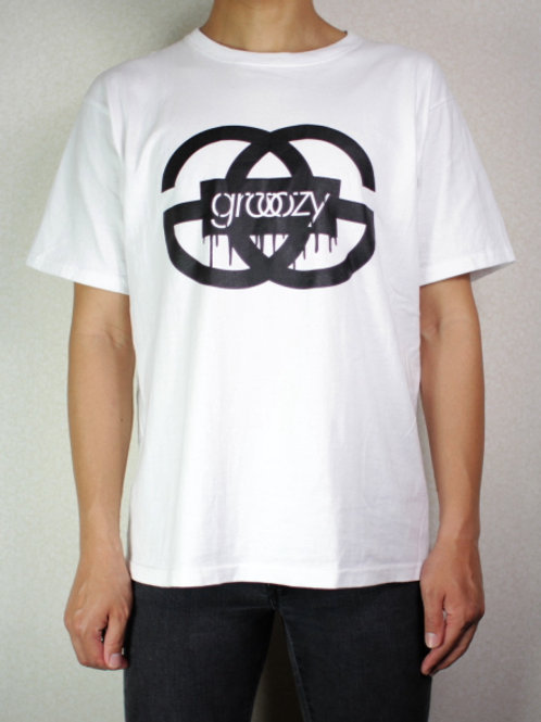 grooozy GG Logo Crew-neck Tee W