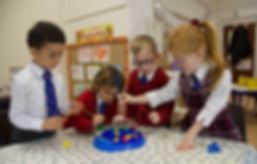 Reception Clas group learning