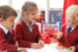Year 1 pupils reading