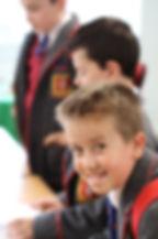 Year 4 pupil smiling