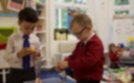 Reception Class pupils