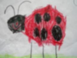 Pre-school ladybird