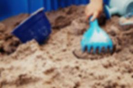 Pre-school sandpit