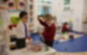 Reception class pupil maths
