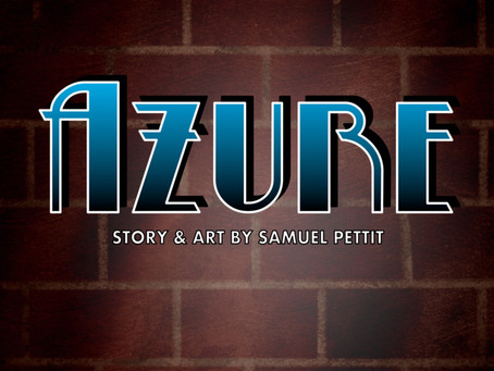 """Issue 1 of """"Azure"""" sent to the publisher"""