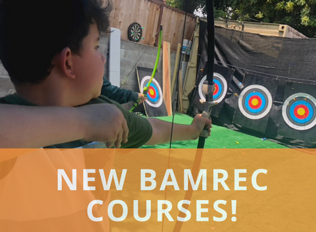 New Bamrec Courses!