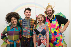 The cast of 'Jack and the Beanstalk'