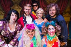 The cast of Cinderella