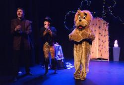 Matthew, Puss & a lion!