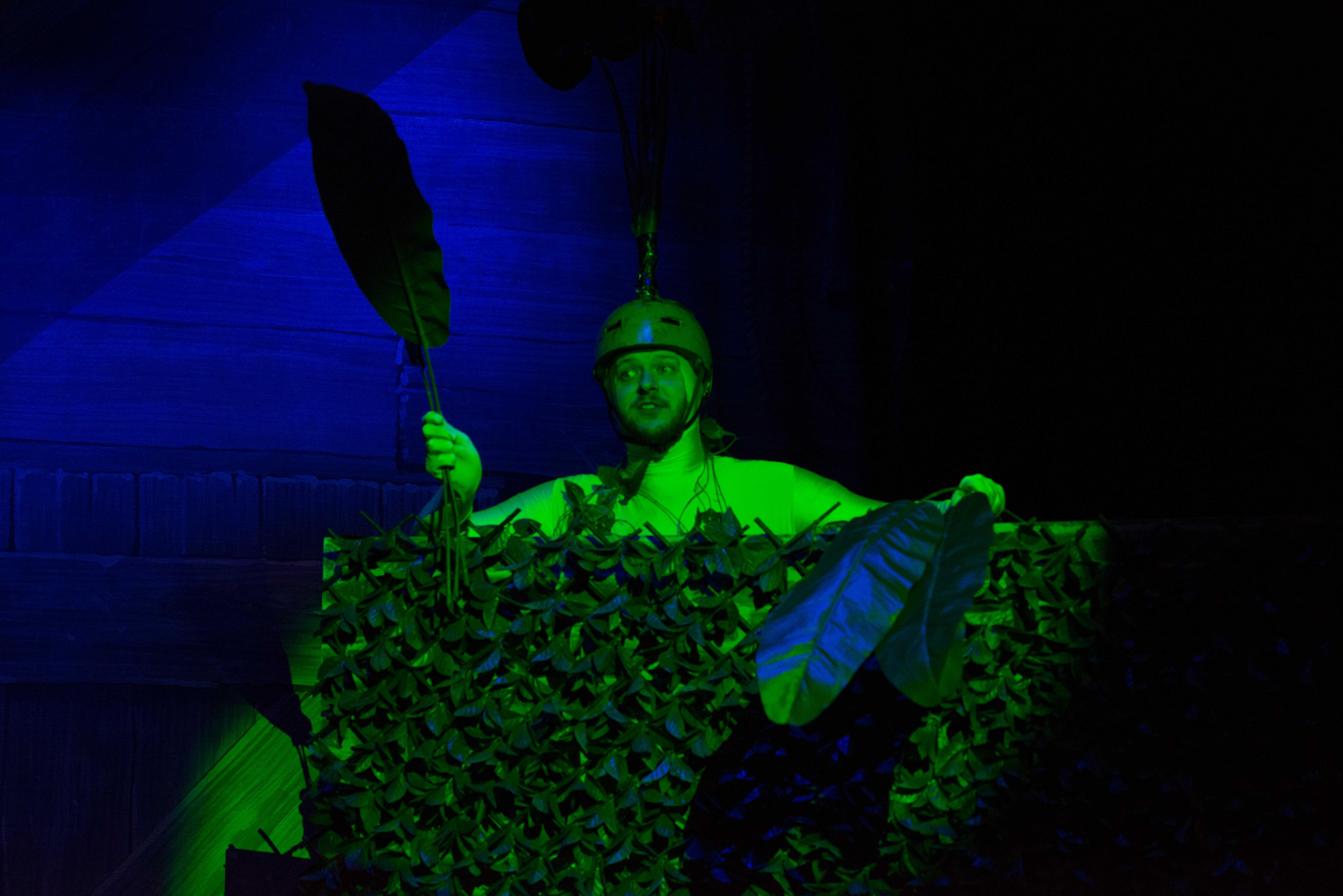 Blake Everett as The Beanstalk