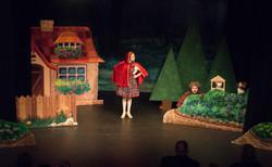 Little Red, Simon & a puppet show!