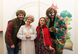 The cast of Little Red Riding Hood