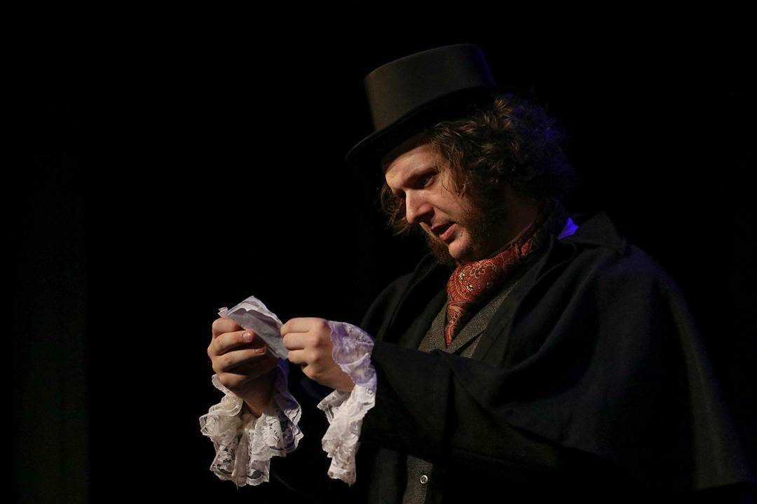 Blake Everett as Ebenezer Scrooge