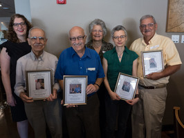 Honoring volunteers and staff at our annual Volunteer Thank You Luncheon
