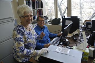 Margaret and Jim Favre