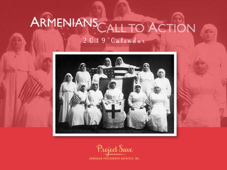 Inspiring our 2019 Calendar, Armenians Call to Action