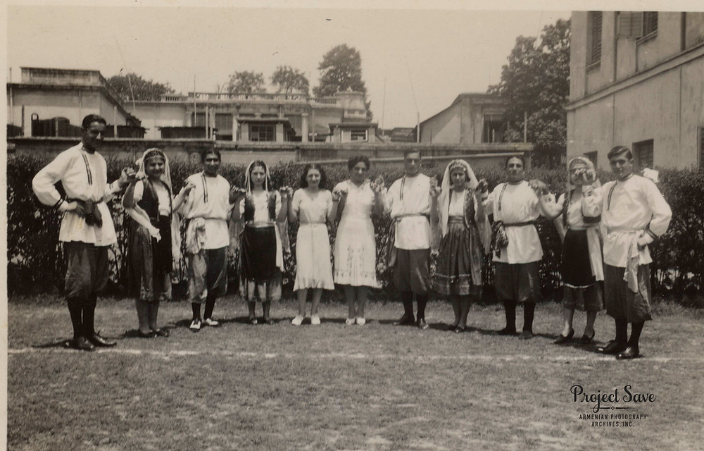Armenian Dance Class, Calcutta, India 1938