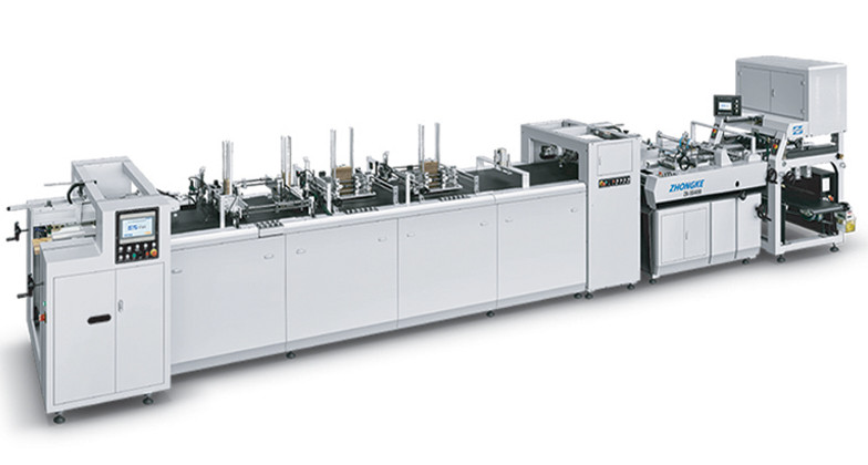 RE-ENFORCED DOUBLE WALL BOX MAKING MACHINE ZK 5540B