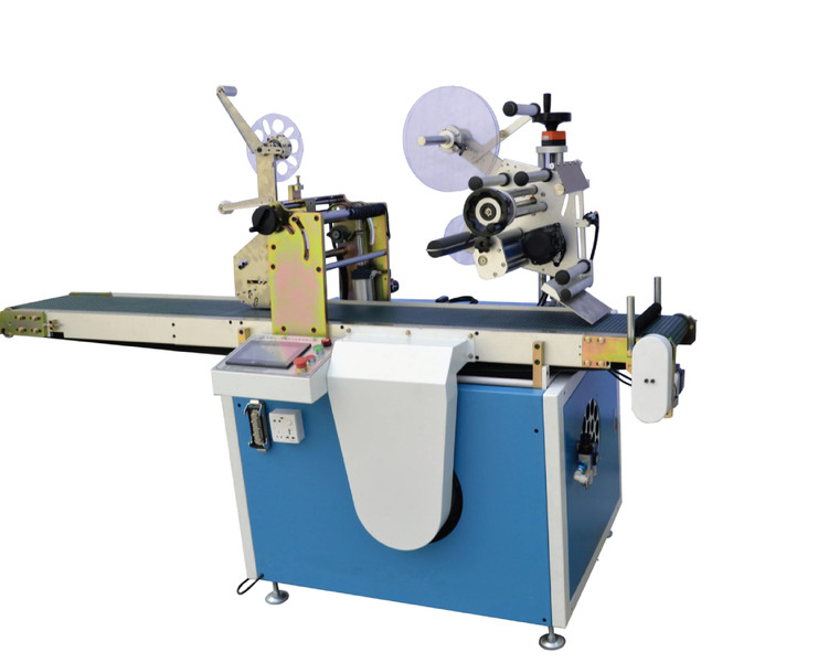 AUTOMATIC DOUBLE SIDE ADHESIVE TAPE PASTING MACHINE ZI-ST300