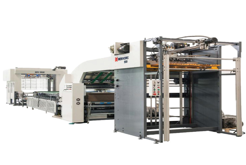 AUTOMATIC HIGH SPEED LITHO LAMINATION MACHINE WITH AUTOMATIC FLIP FLOP UNIT WHL 1512