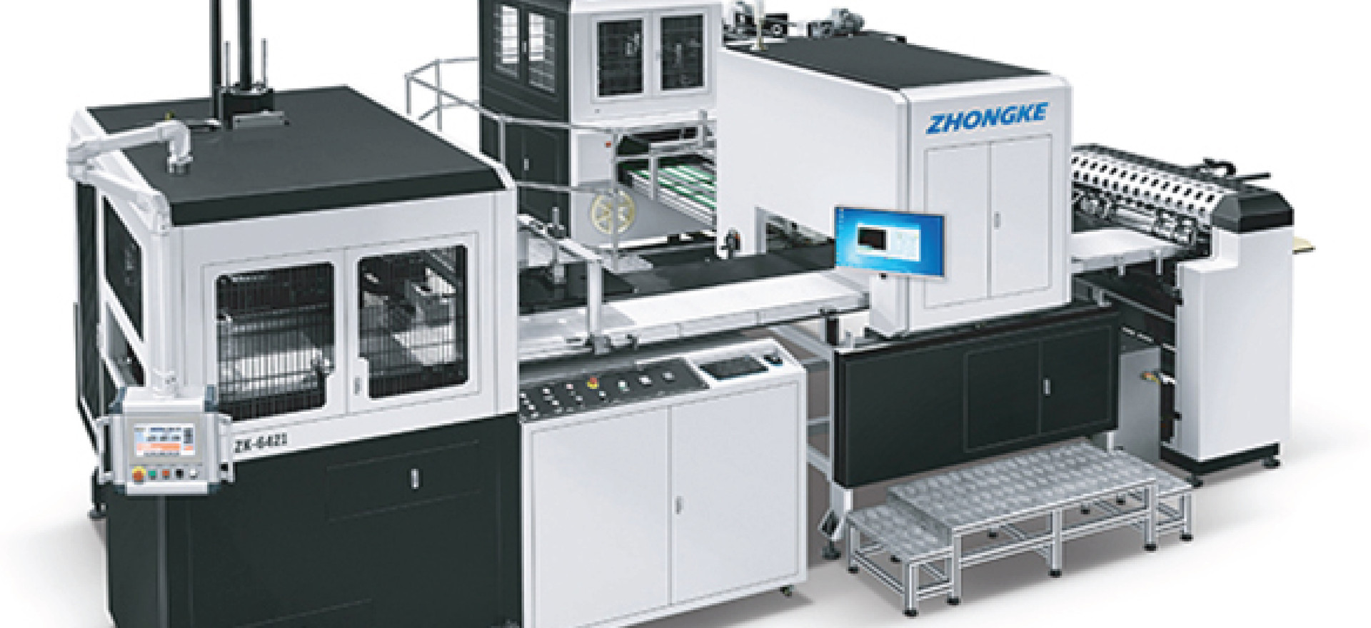 STATE OF THE ART RIGID BOX MAKING MACHINE - ZK 6421