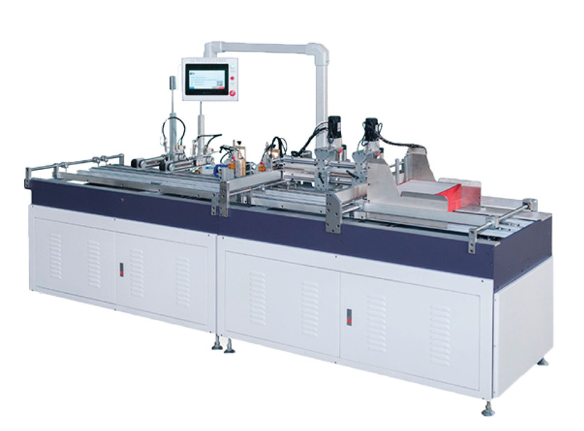 AUTOMATIC HOLE DRILLING AND MAGNET FIXING MACHINE FKT M800