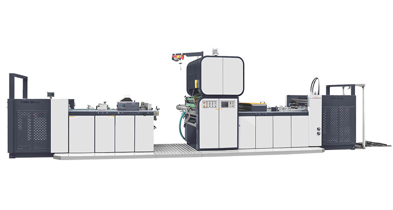 HI SPEED DRY LAMINATION MACHINE WITH HOT KNIFE CUTTER YS SR 108