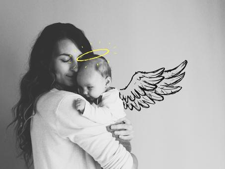 Mãe de anjo: como lidar com a dor de  perder um bebê?